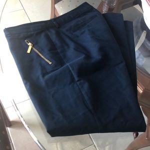 Michael kors navy trousers size 12